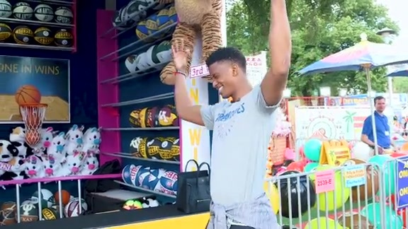 Rookies Jarrett Culver And Napheesa Collier Visit The Minnesota State Fair