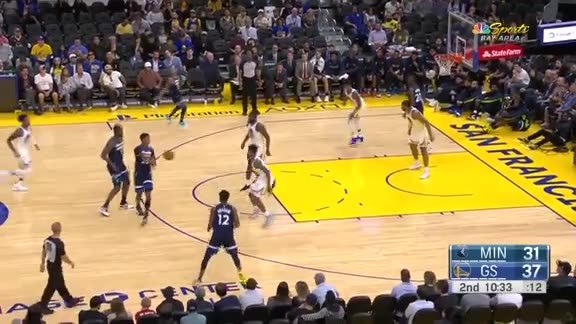 Timberwolves Preseason Highlights vs. Warriors (10.10.19)