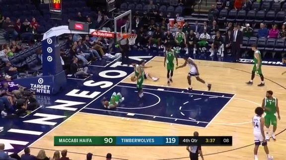 Highlights | Timberwolves 131, Maccabi Haifa 101 (10.13.19)