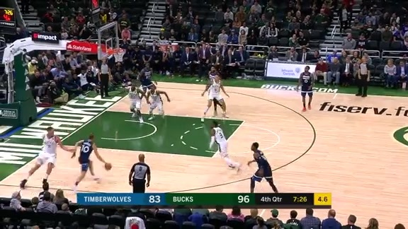 Timberwolves Highlights vs. Bucks (10.17.19)