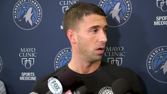 Ryan Saunders On The Upcoming Season (10.22.19)