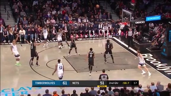 Highlights | Karl-Anthony Towns With 36 Points, 14 Rebounds, 3 Blocks, 3 Assists, 3 Steals vs. Nets (10.23.19)