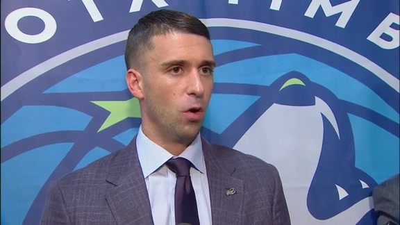 Ryan Saunders After Timberwolves Beat Nets In Season Opener (10.23.19)