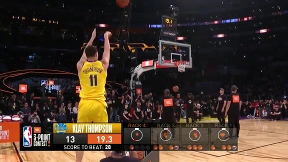 JBL 3PT Contest - Klay Thompson: Round 2