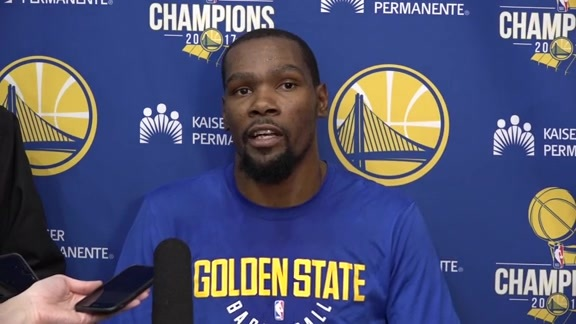 Warriors Talk: Kevin Durant - 2/21/18