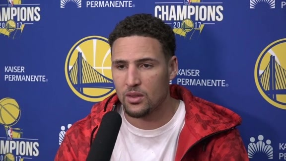Warriors Talk: Klay Thompson - 2/22/18
