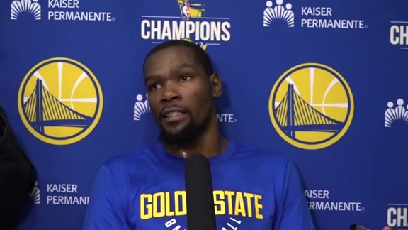 Warriors Talk: Kevin Durant - 2/23/18