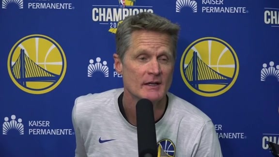 Warriors Talk: Steve Kerr - 2/23/18