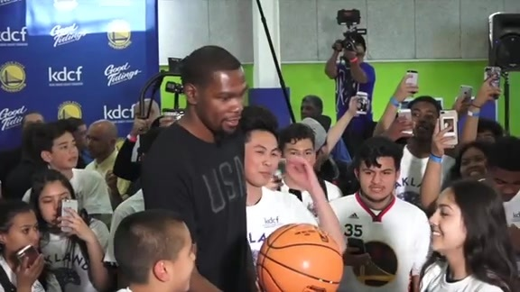 KD Receives Community Award