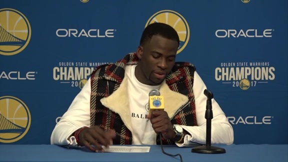 Postgame Warriors Talk: Draymond Green - 2/24/18
