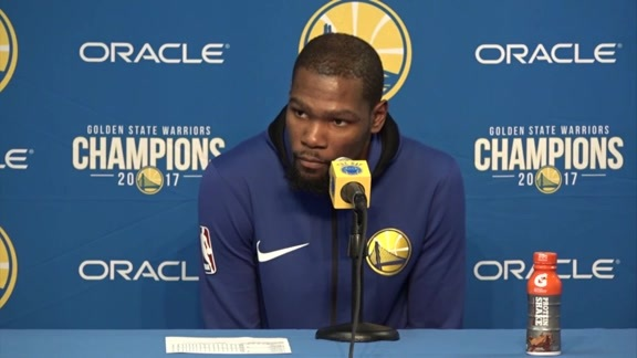 Postgame Warriors Talk: Kevin Durant - 2/24/18