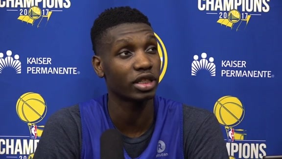Warriors Talk: Chris Boucher - 3/14/18