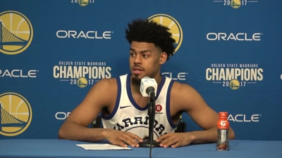 Postgame Warriors Talk: Quinn Cook - 3/16/18