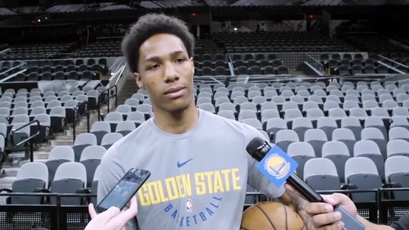 Warriors Talk: Patrick McCaw - 3/19/18
