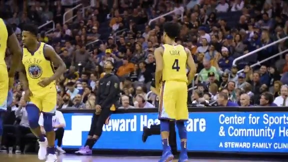 Warriors Shorts: Ready for the Moment