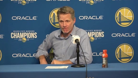 Postgame Warriors Talk: Steve Kerr - 3/23/18