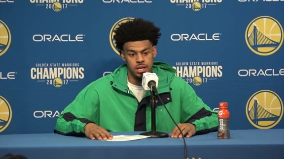 Postgame Warriors Talk: Quinn Cook - 3/23/18