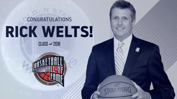 Warriors Sound: Warriors President and COO Rick Welts Elected to Hall of Fame