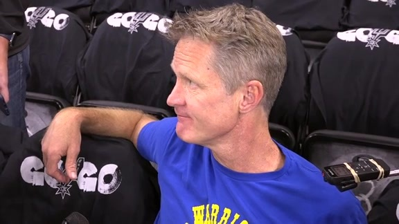 Warriors Talk: Steve Kerr - 4/19/18