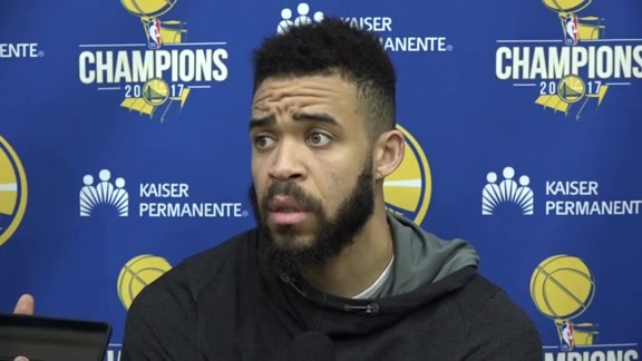 Warriors Talk: JaVale McGee - 4/23/18