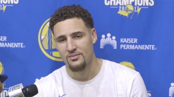 Warriors Talk: Klay Thompson - 5/21/18