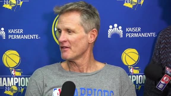 Warriors Talk: Steve Kerr - 5/21/18