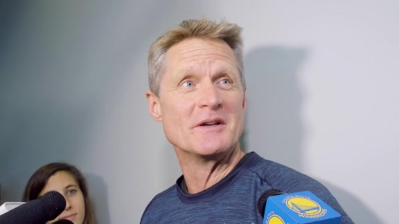 Warriors Talk: Steve Kerr - 5/23/18