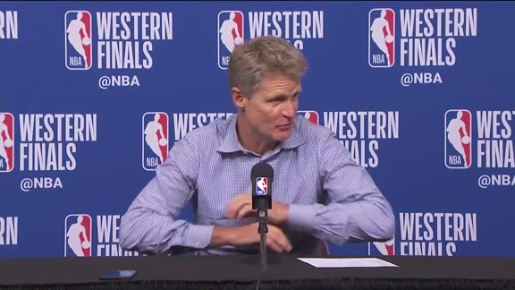 Postgame Warriors Talk: Steve Kerr - 5/24/18