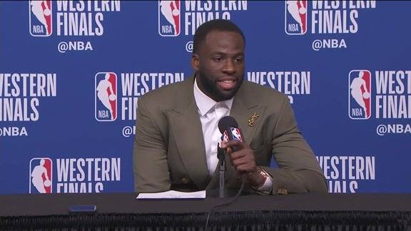 Postgame Warriors Talk: Draymond Green - 5/24/18