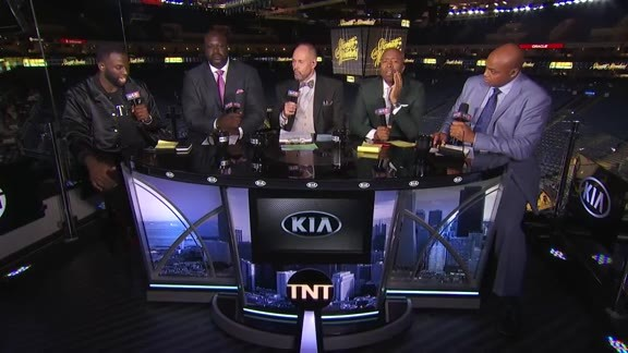Draymond Joins Inside the NBA