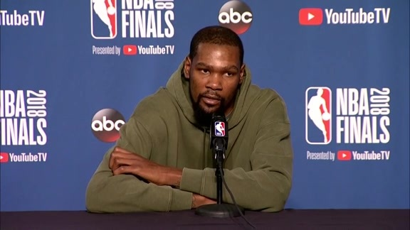 Warriors Talk: Kevin Durant - 6/7/18