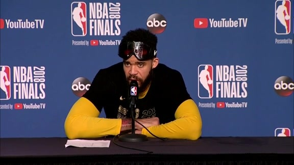 Postgame Warriors Talk: JaVale McGee - 6/8/18