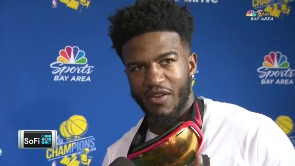 Warriors Talk After the Parade: Jordan Bell - 6/12/18