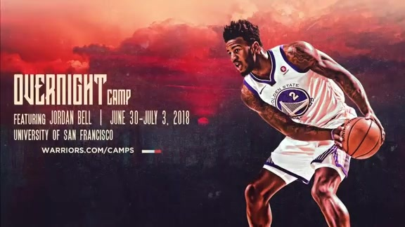 Overnight Camp Featuring Jordan Bell