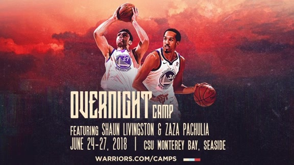 Overnight Camp Featuring Zaza Pachulia and Shaun Livingston