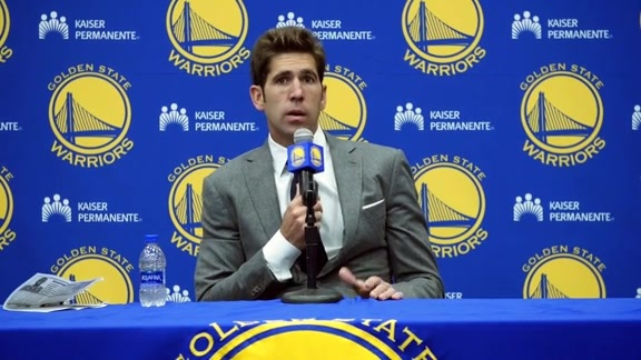 2018 NBA Draft Press Conference: Bob Myers