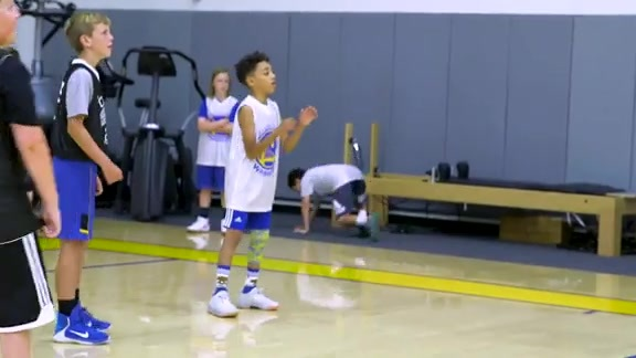 Life of a Camper - Warriors Basketball Camp