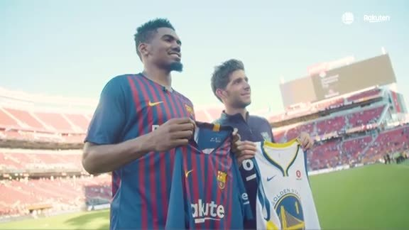 Warriors All-Access: Jacob Evans Attends International Champions Cup