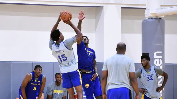 Warriors Training Camp, Fueled by Gatorade Day 3