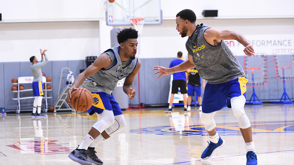 Warriors Training Camp, Fueled by Gatorade Day 4