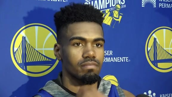Warriors Talk: Jacob Evans - 10/18/18