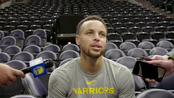 Warriors Talk: Stephen Curry - 10/19/18