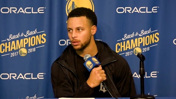 Postgame Warriors Talk: Stephen Curry 10.22.18