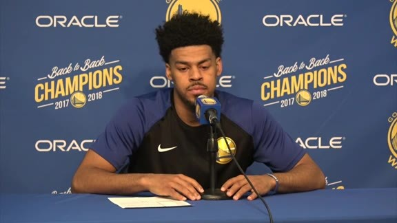 Postgame Warriors Talk: Quinn Cook - 11/10/18