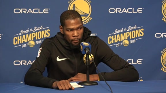 Postgame Warriors Talk: Kevin Durant - 11/10/18