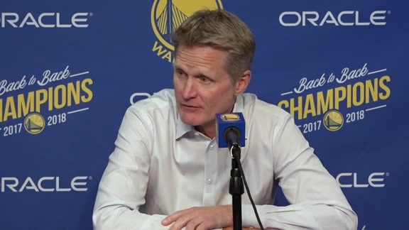 Postgame Warriors Talk: Steve Kerr - 11/13/18