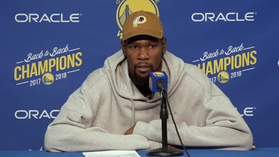Postgame Warriors Talk: Kevin Durant - 11/13/18