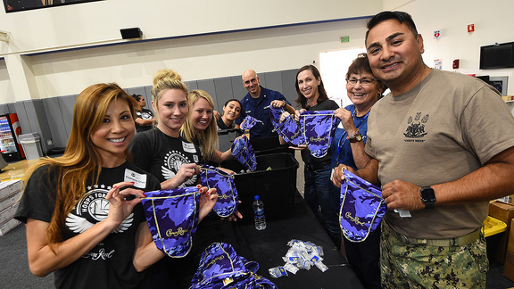 Warriors Team Up with Crown Royal to Support Military Members Serving Overseas