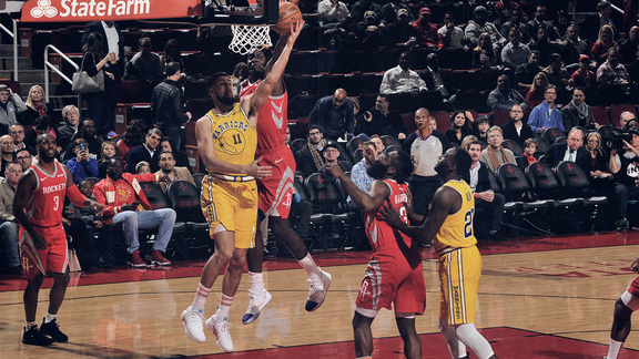 Verizon Game Rewind: Warriors (86) Rockets (107)