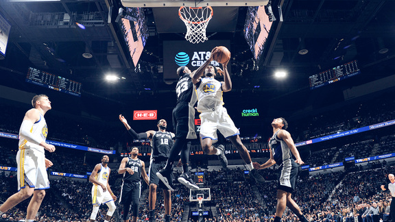 Verizon Game Rewind: Warriors 92 - Spurs 104